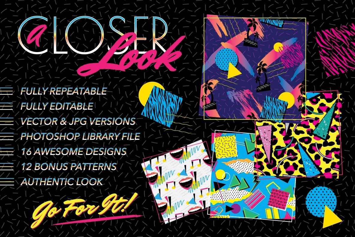 1980s Fashion Patterns Volume One example image 4