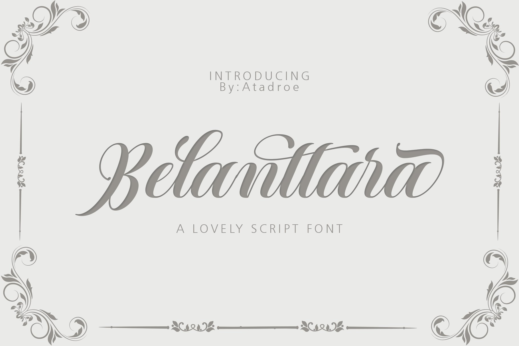 12 graceful charming fonts example image 12