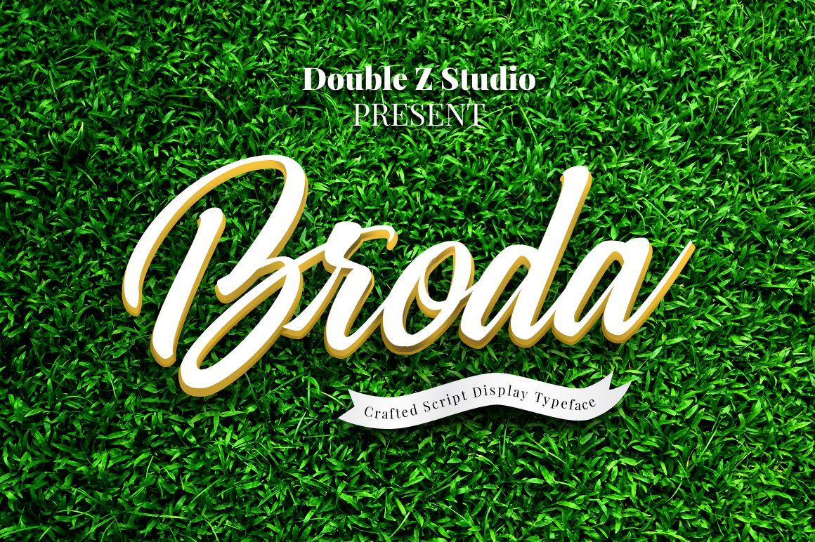Broda Script example image 1