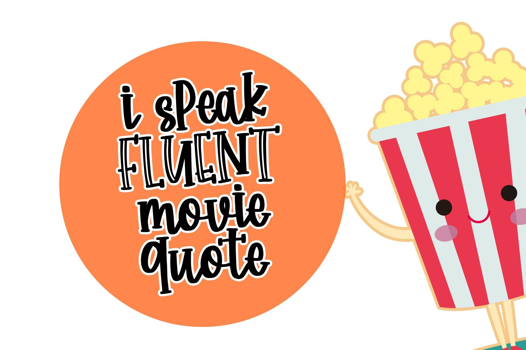 Happy Popcorn - Handwritten Font example image 4