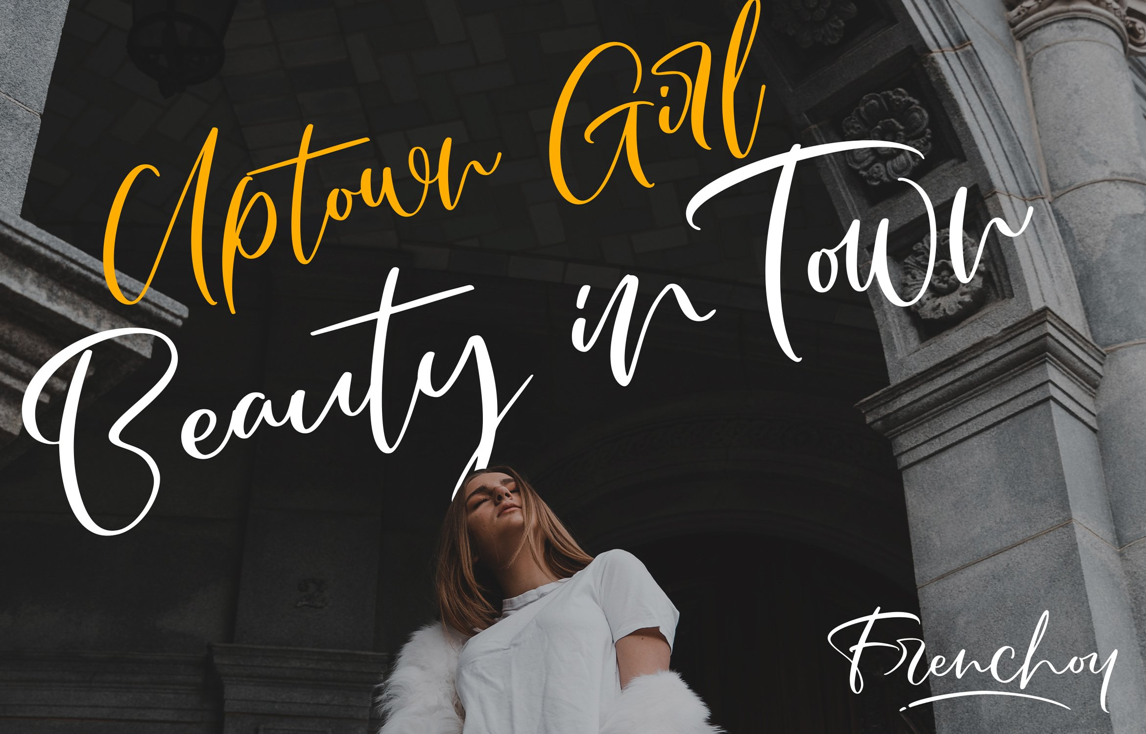 Frenchoy | Handwriting Script Font example image 3