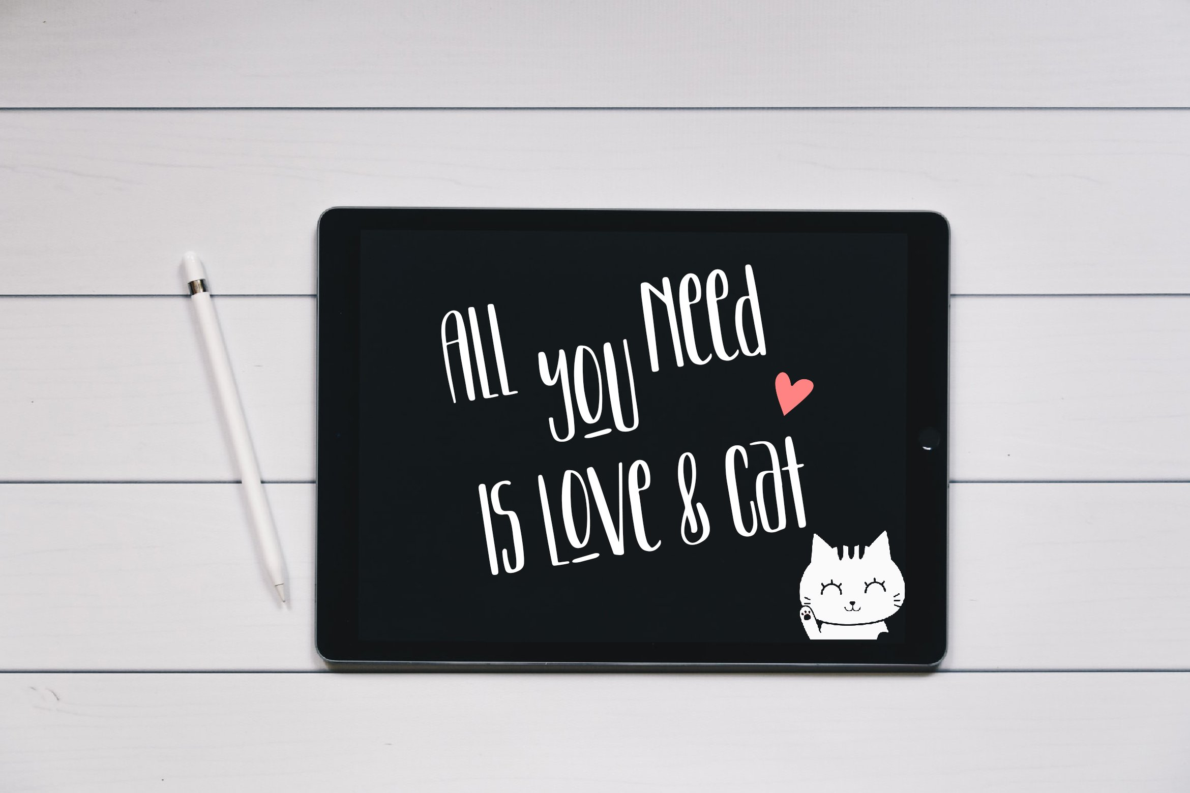 Kitten Lover Cute Display Font example image 7