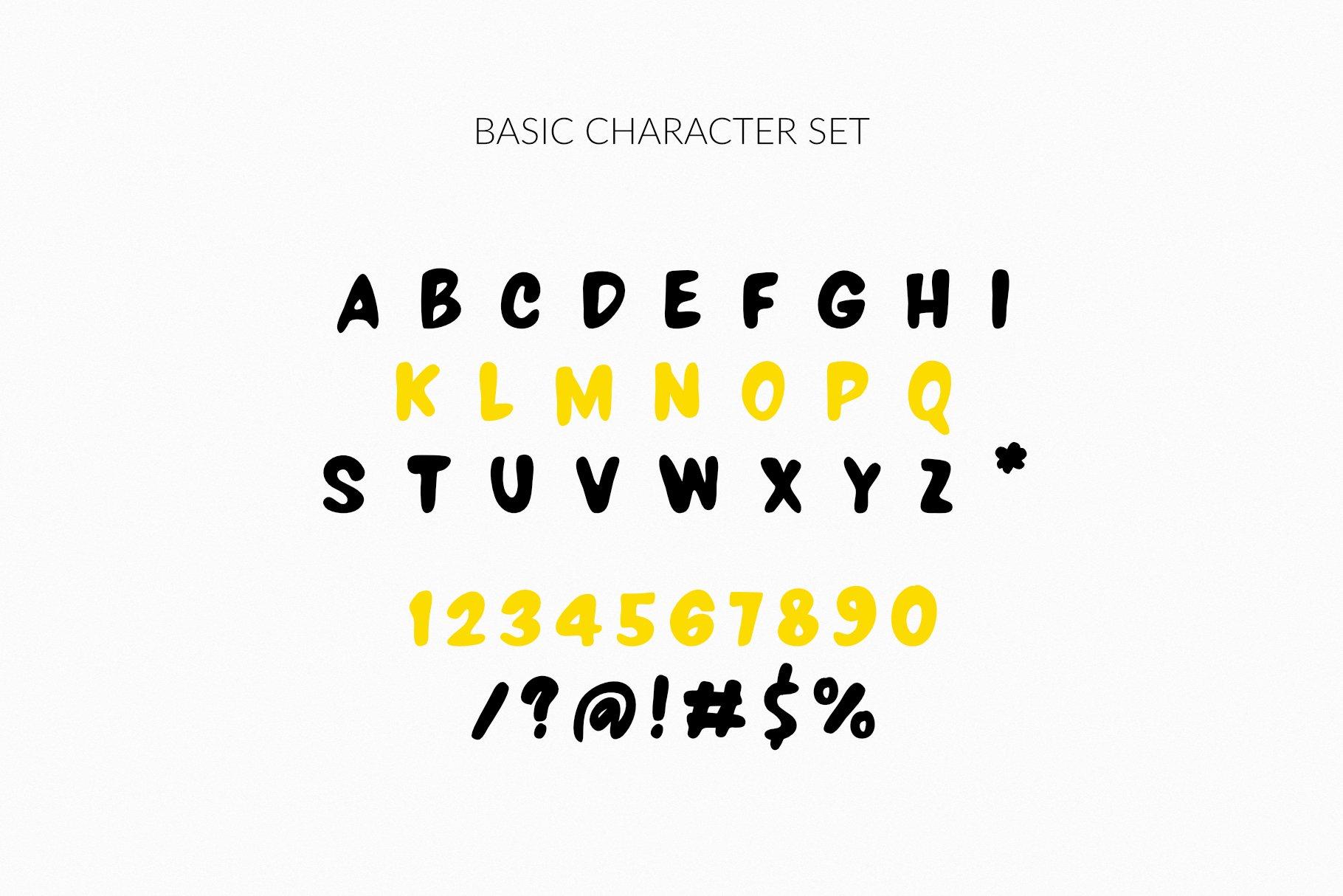 LALOU Greek Latin Chubby Font example image 4