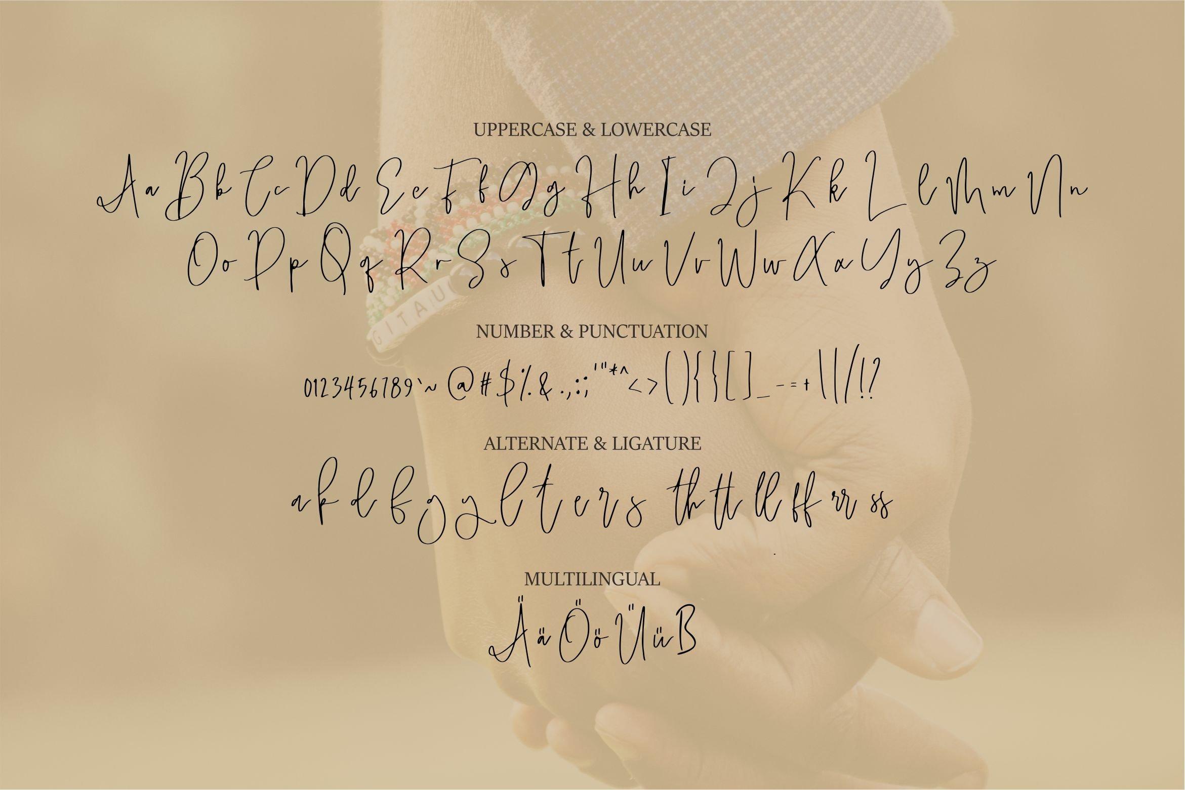 Sawyer - A Handwritten Script Font example image 4
