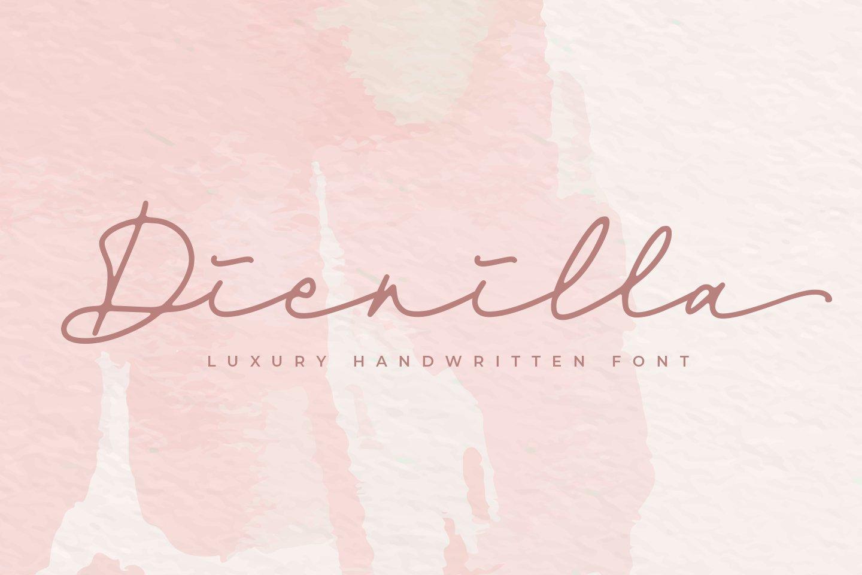 Dienilla -Luxury Handwritten- example image 1