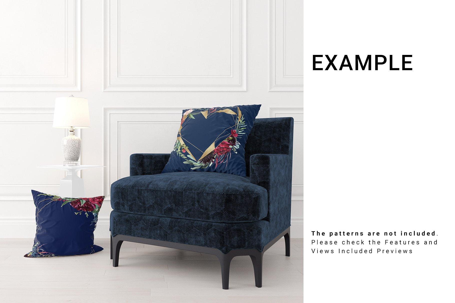 Luxury Interior Throw Pillows Set example image 11
