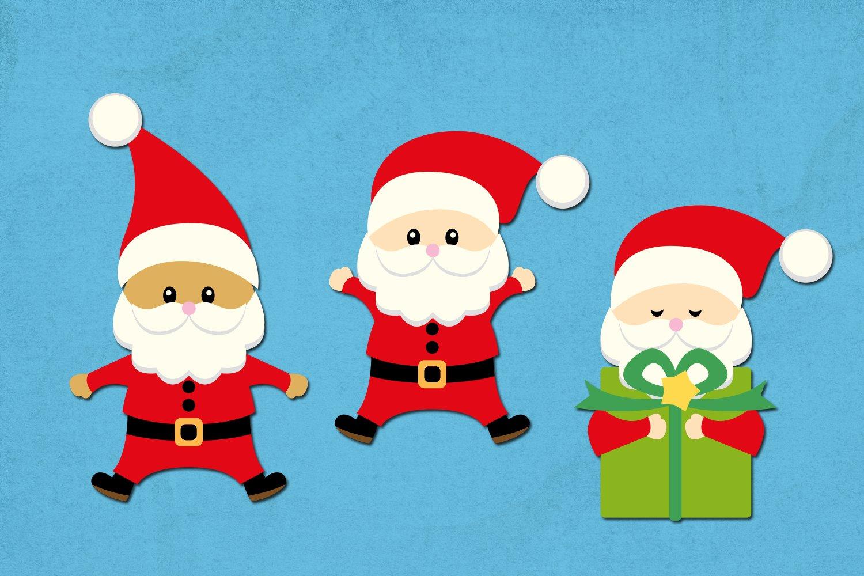Christmas Santa Illustrations example image 3