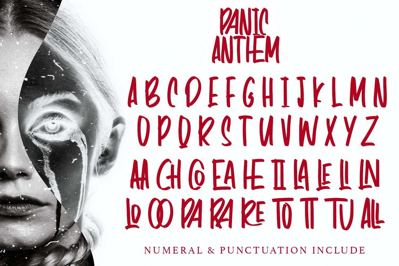 Panic Anthem - Hallowen Fonts example image 7