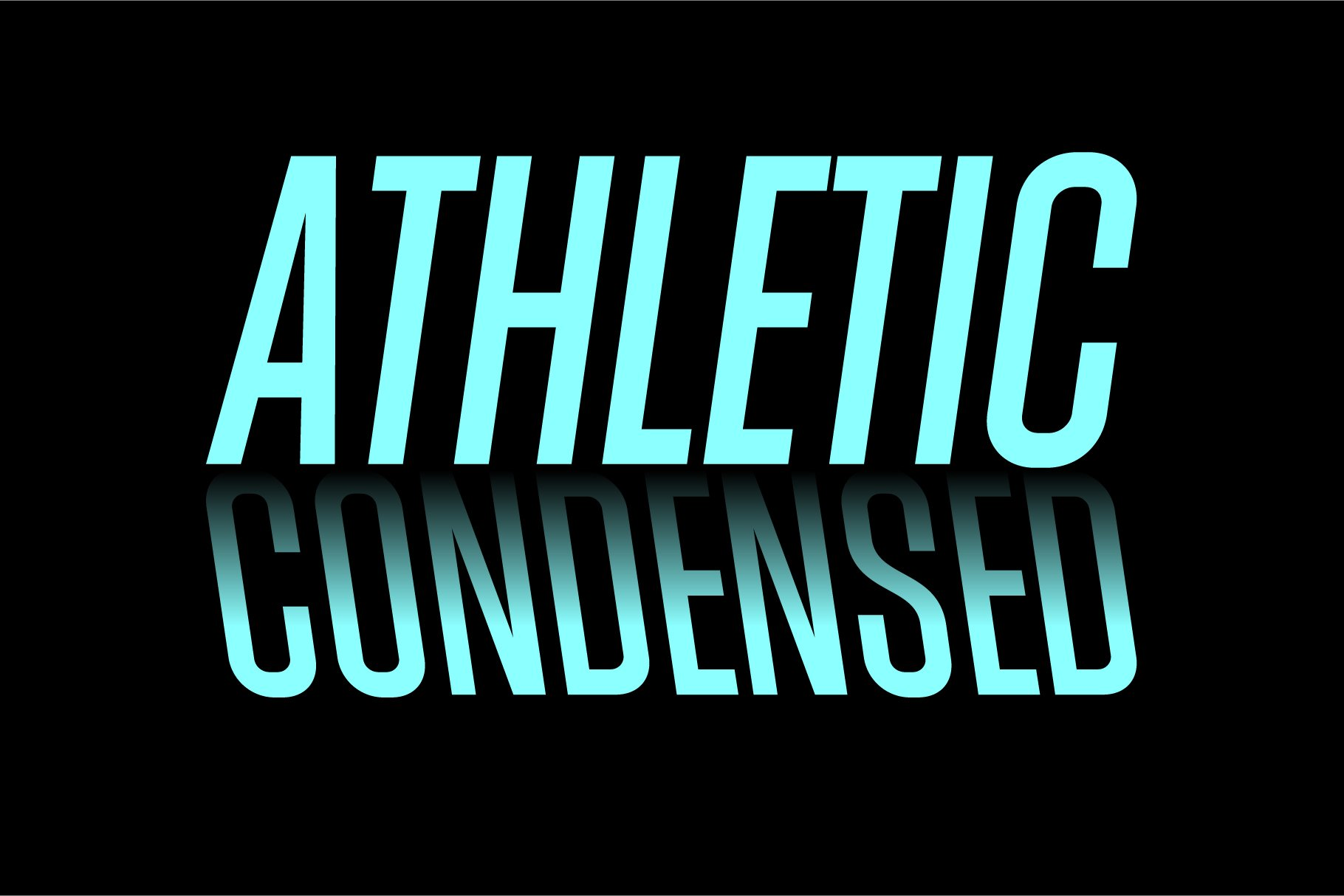 Athletic Condensed example image 1