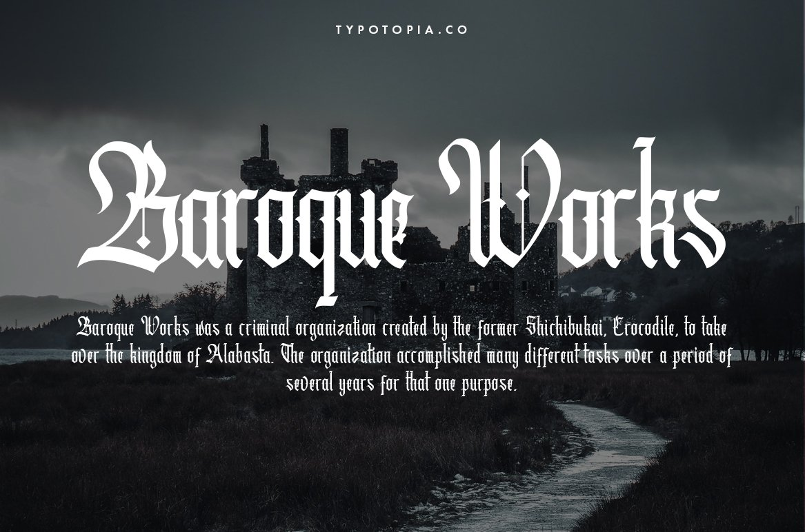 Cydonia - The Blackletter Font example image 3