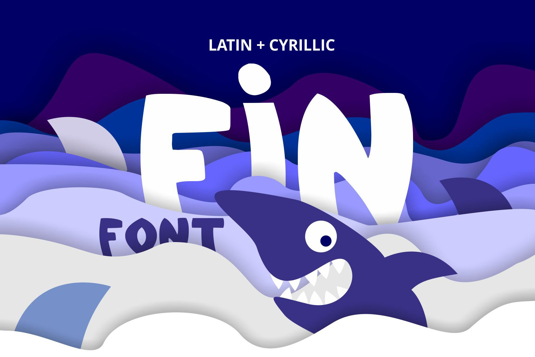 Fin Font example image 1