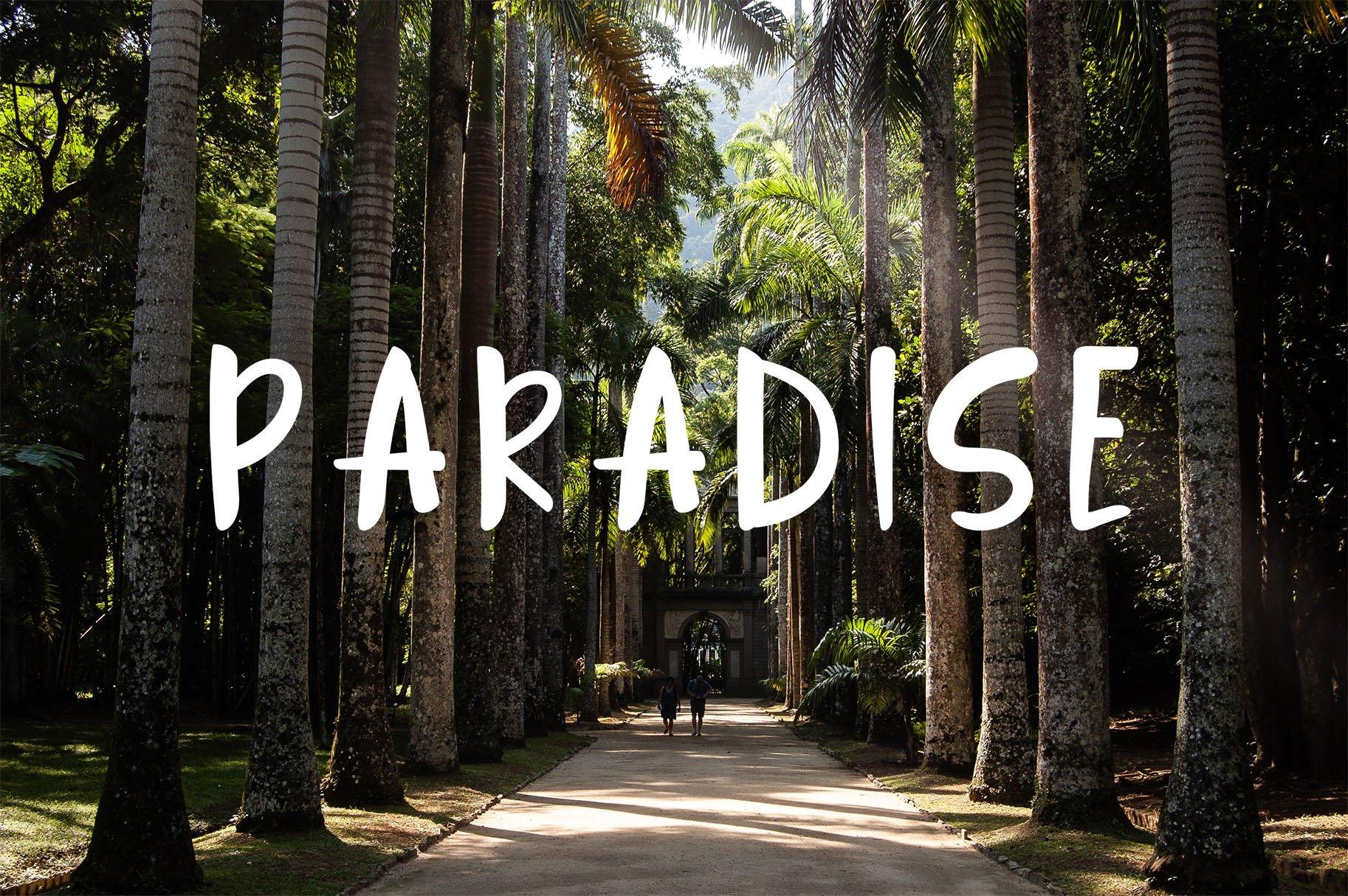 Jungle Display Font example image 5