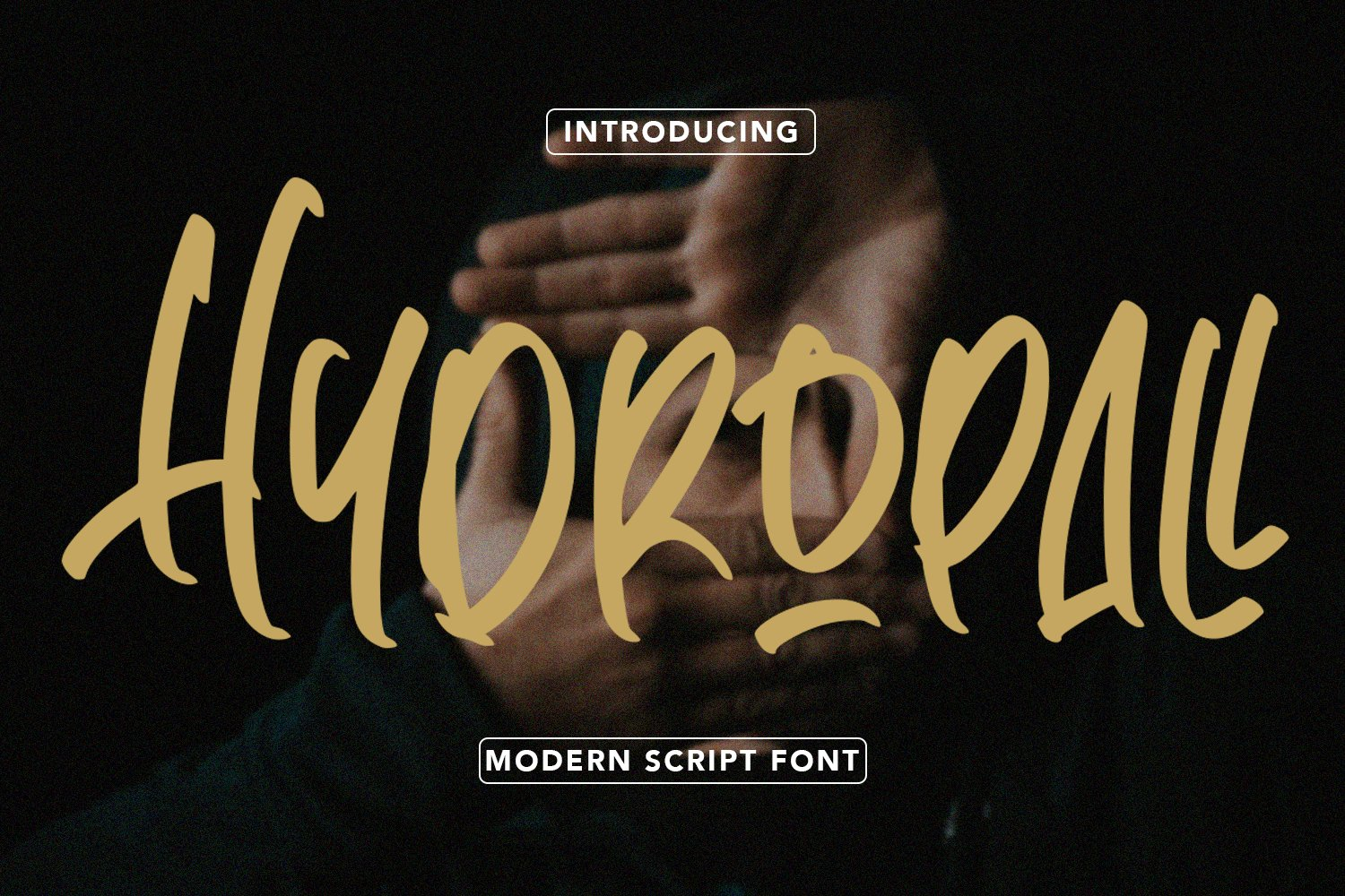 Hydropall - Modern Script Font example image 1