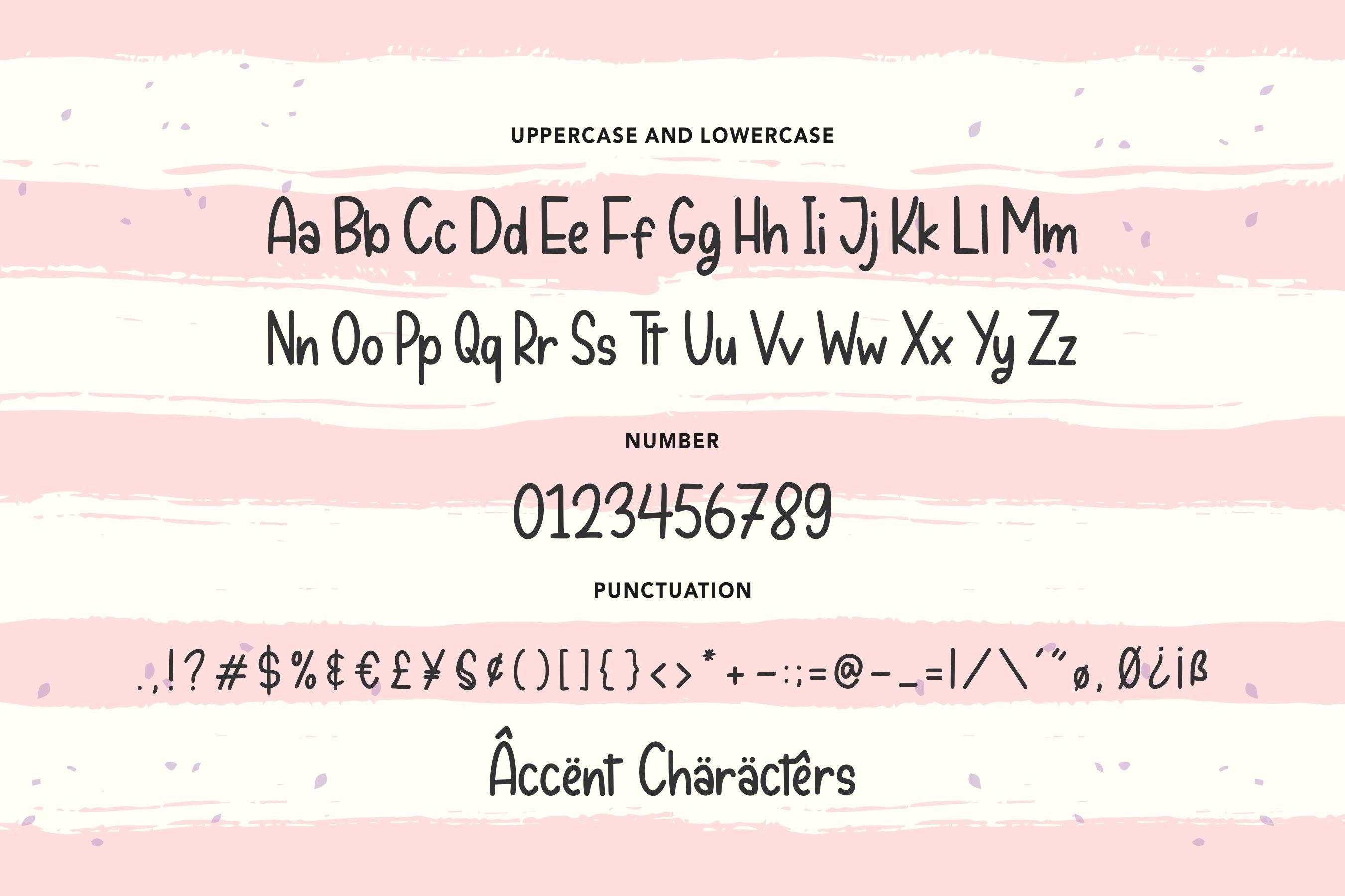 Peachyday Fun Handwritten Font example image 6