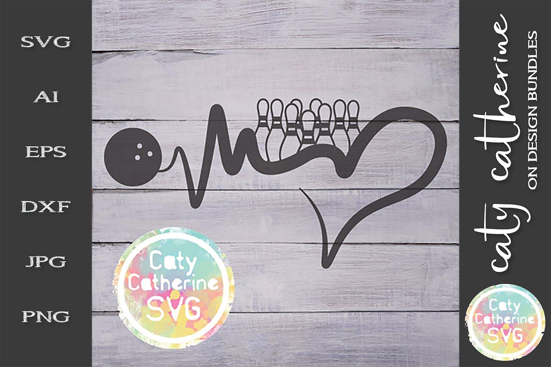 Download Heartbeat Love Heart Ten Pin Bowling Svg Cut File 244533 Svgs Design Bundles