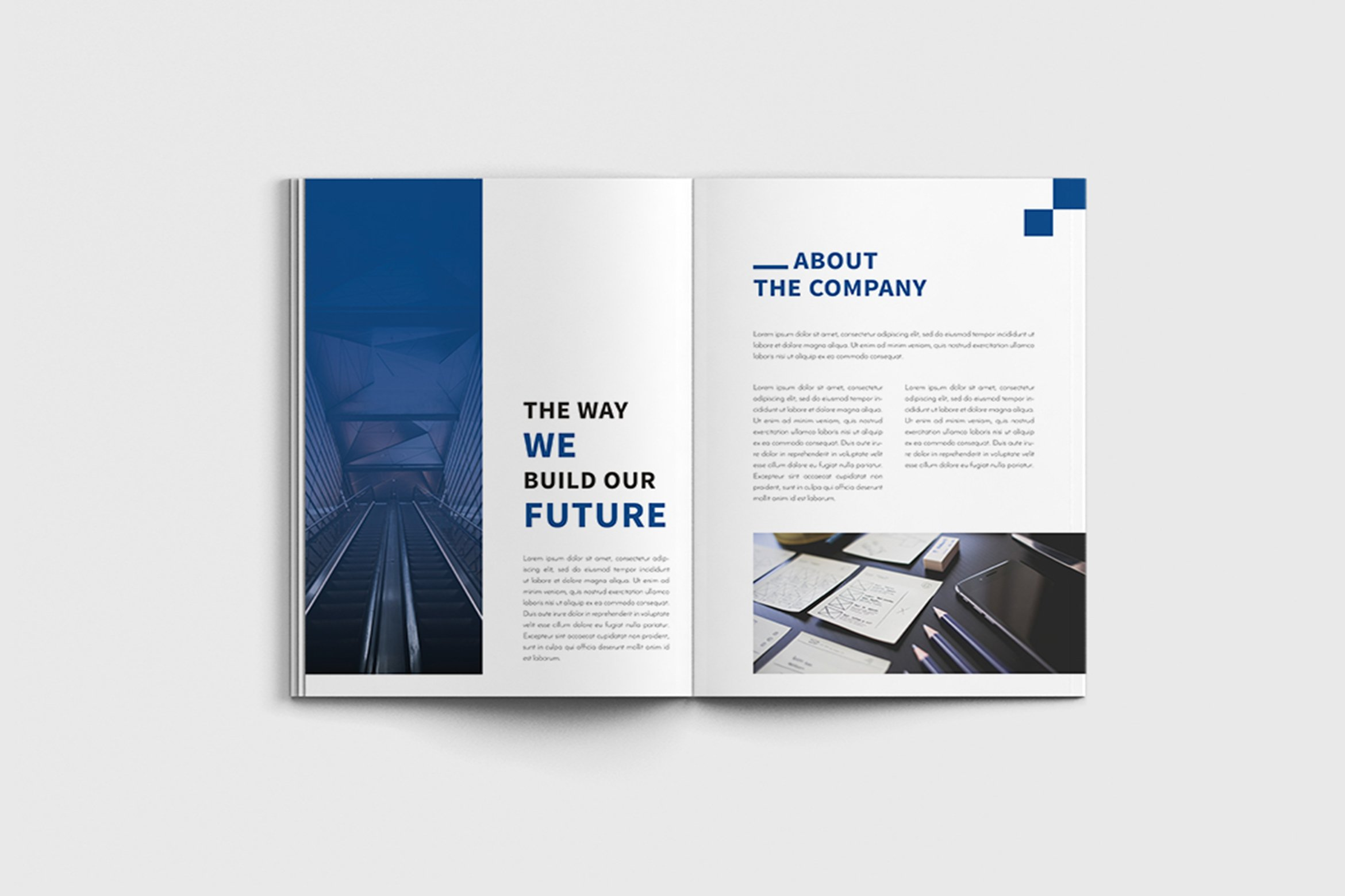Walkers - A4 Business Brochure Template example image 6