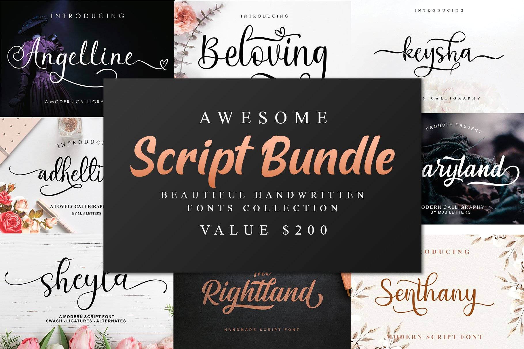Awesome Script Bundle example image 1