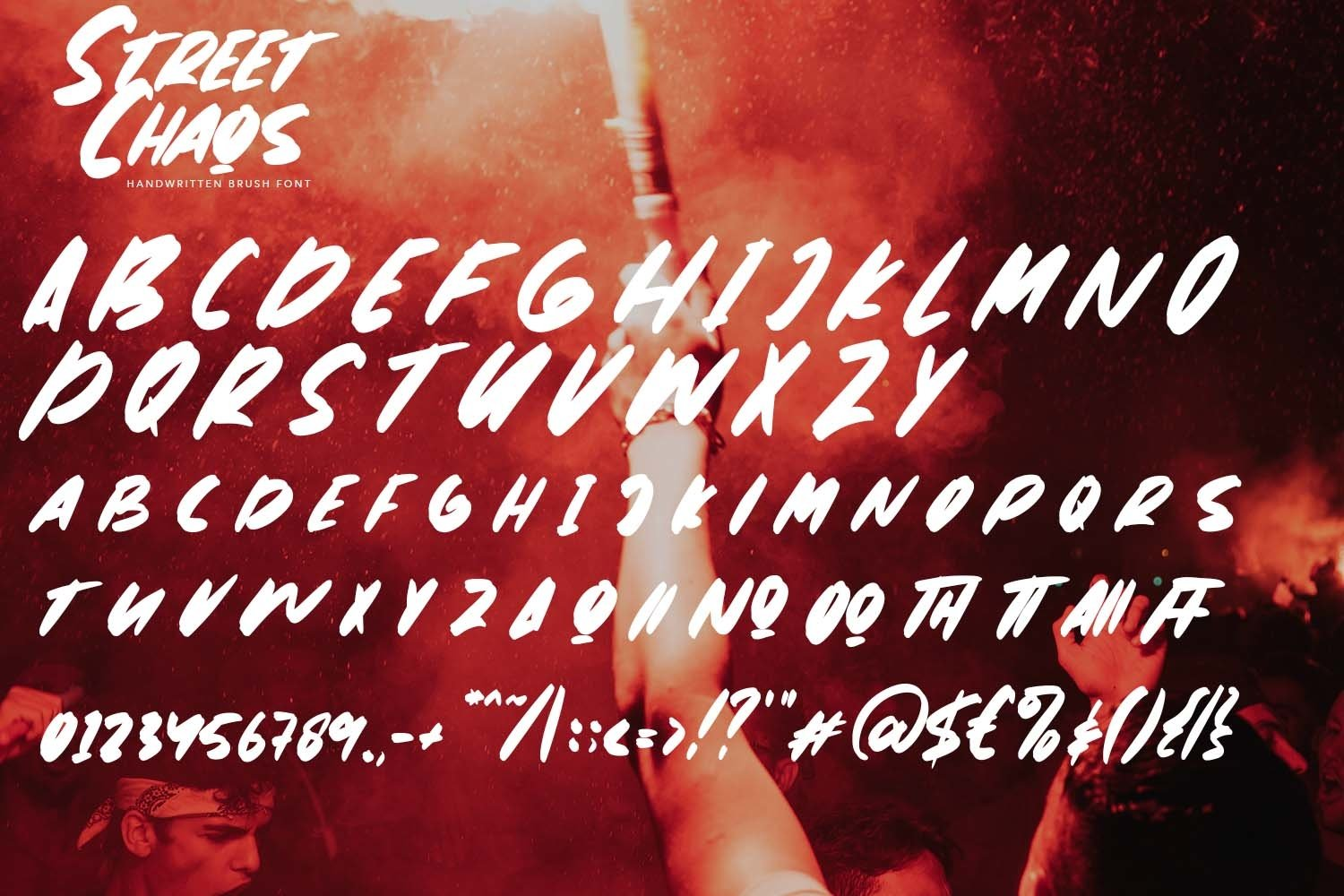 StreetChaos - Brush Fonts example image 8