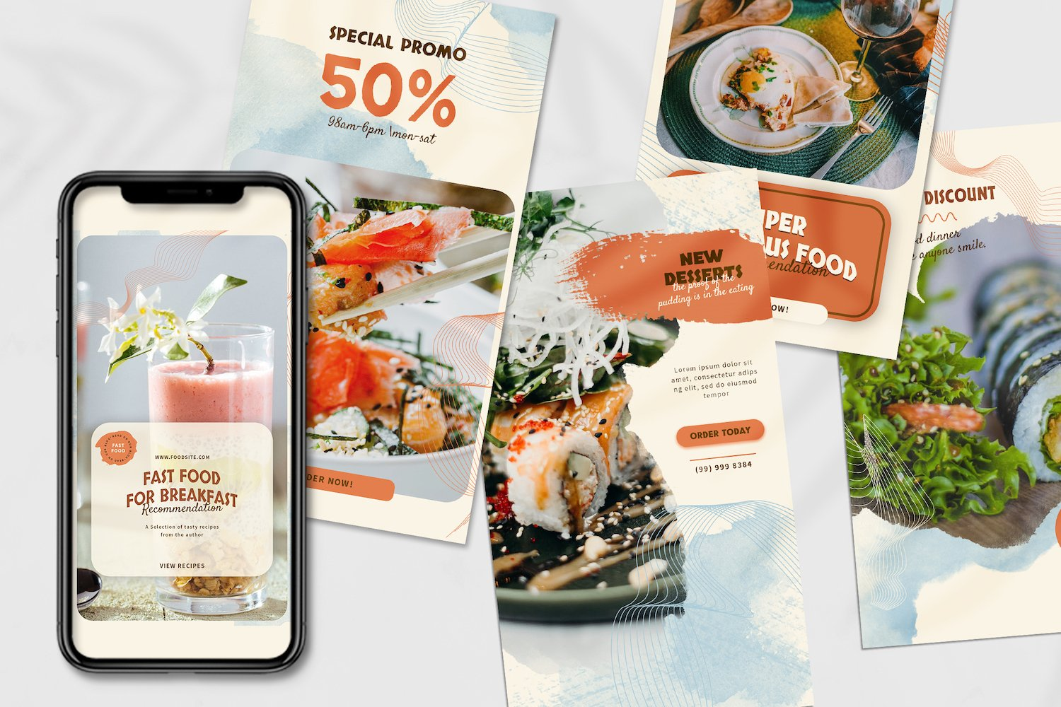Asian Food Instagram Stories Template example image 6