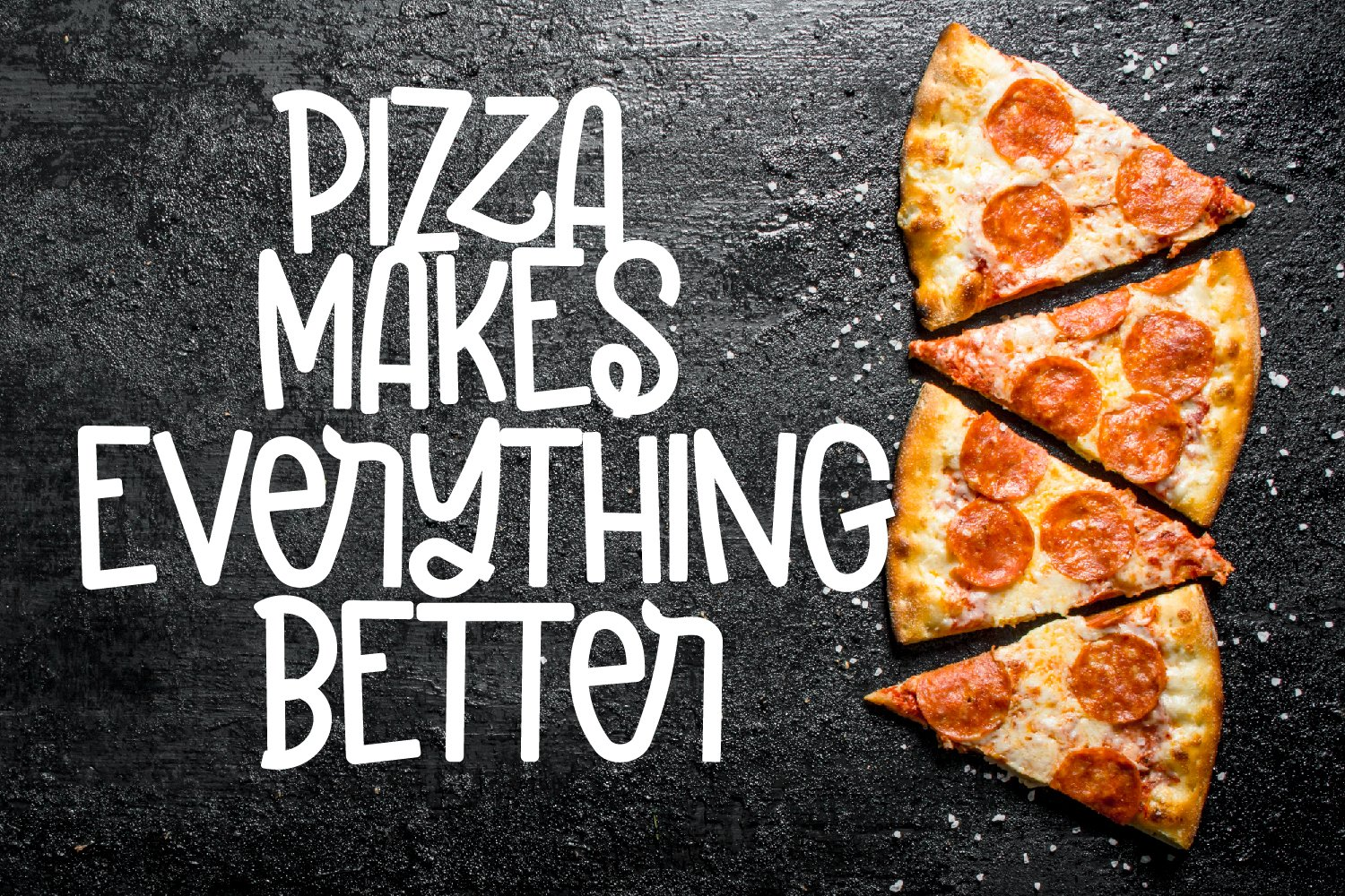 Pizzarony - A Silly Sans Serif With Ligatures example image 5