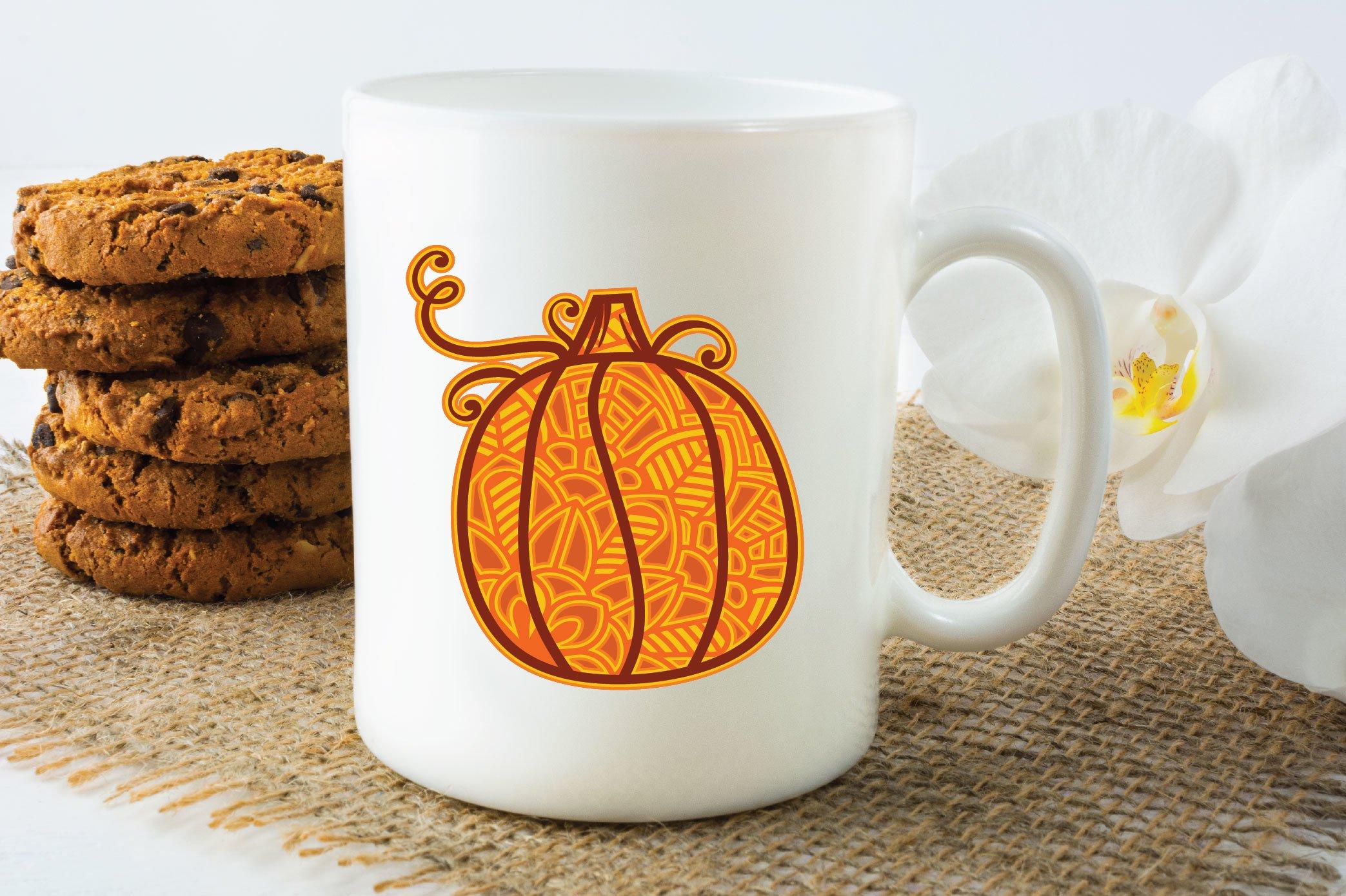 3D Layered Pumpkin SVG | Fall Multi Layer| Autumn Cut File example image 6