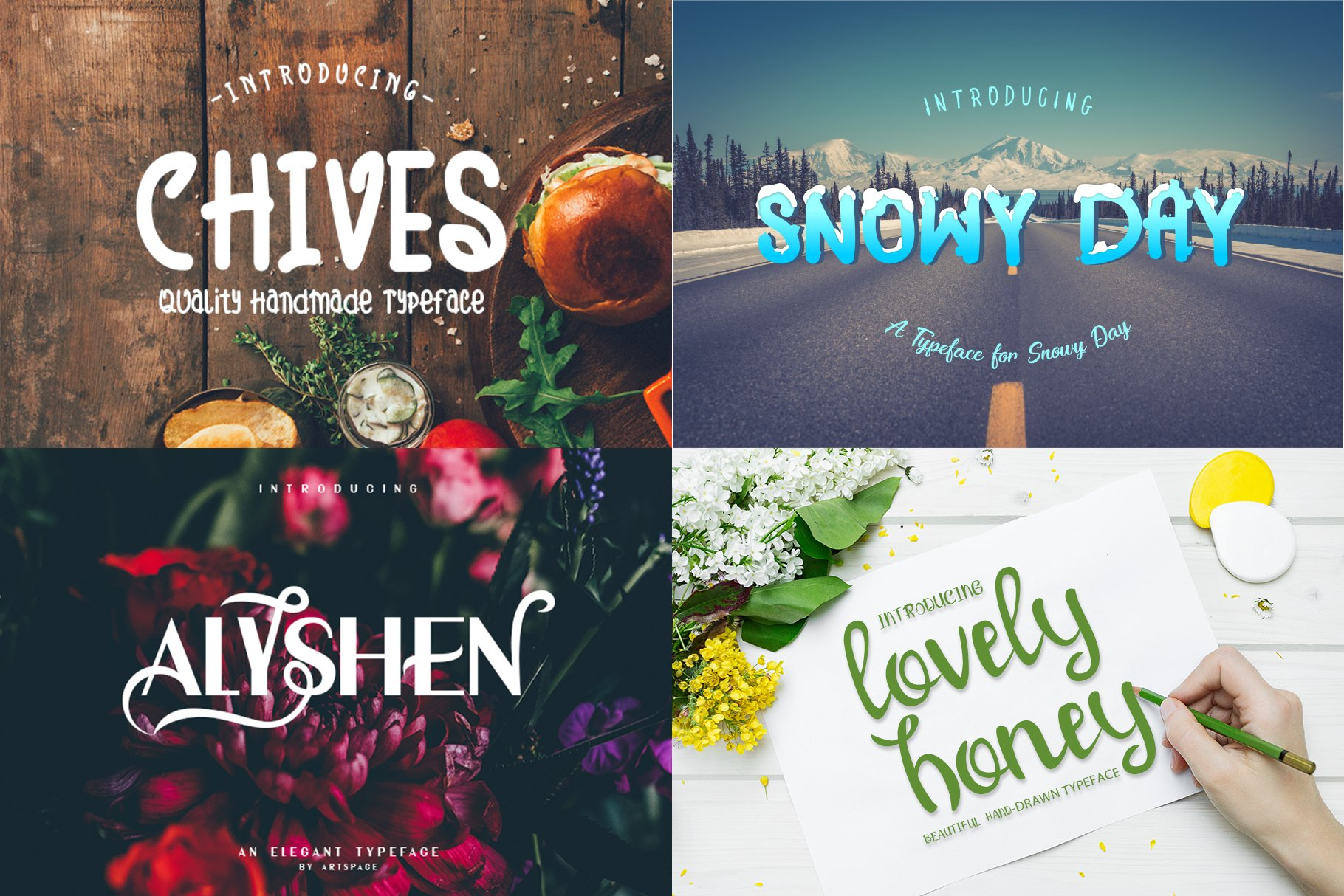 BIG BUNDLE - BEST FONT COLLECTIONS example image 12