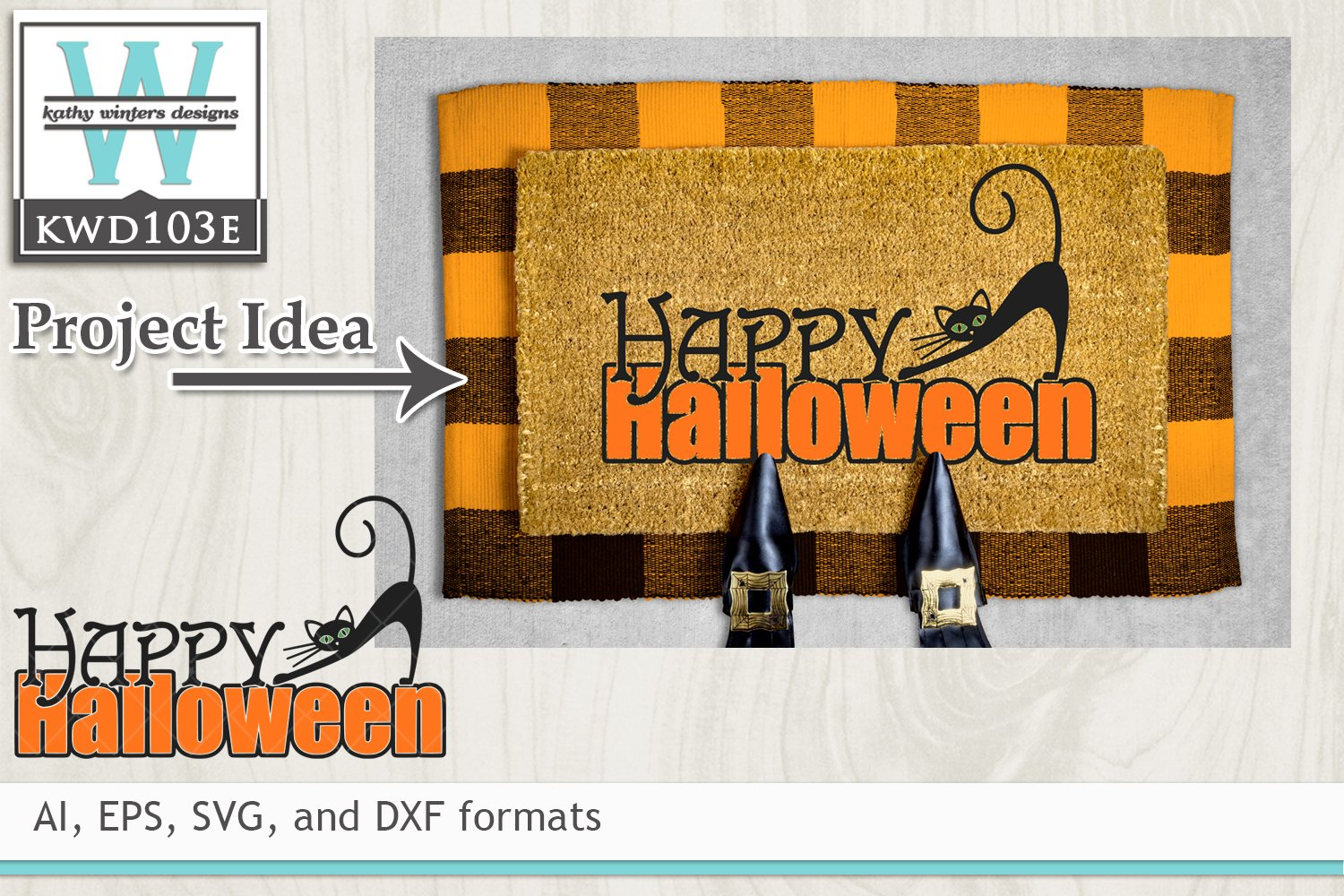 19+ Halloween Cutting File Kwd103E Crafter Files