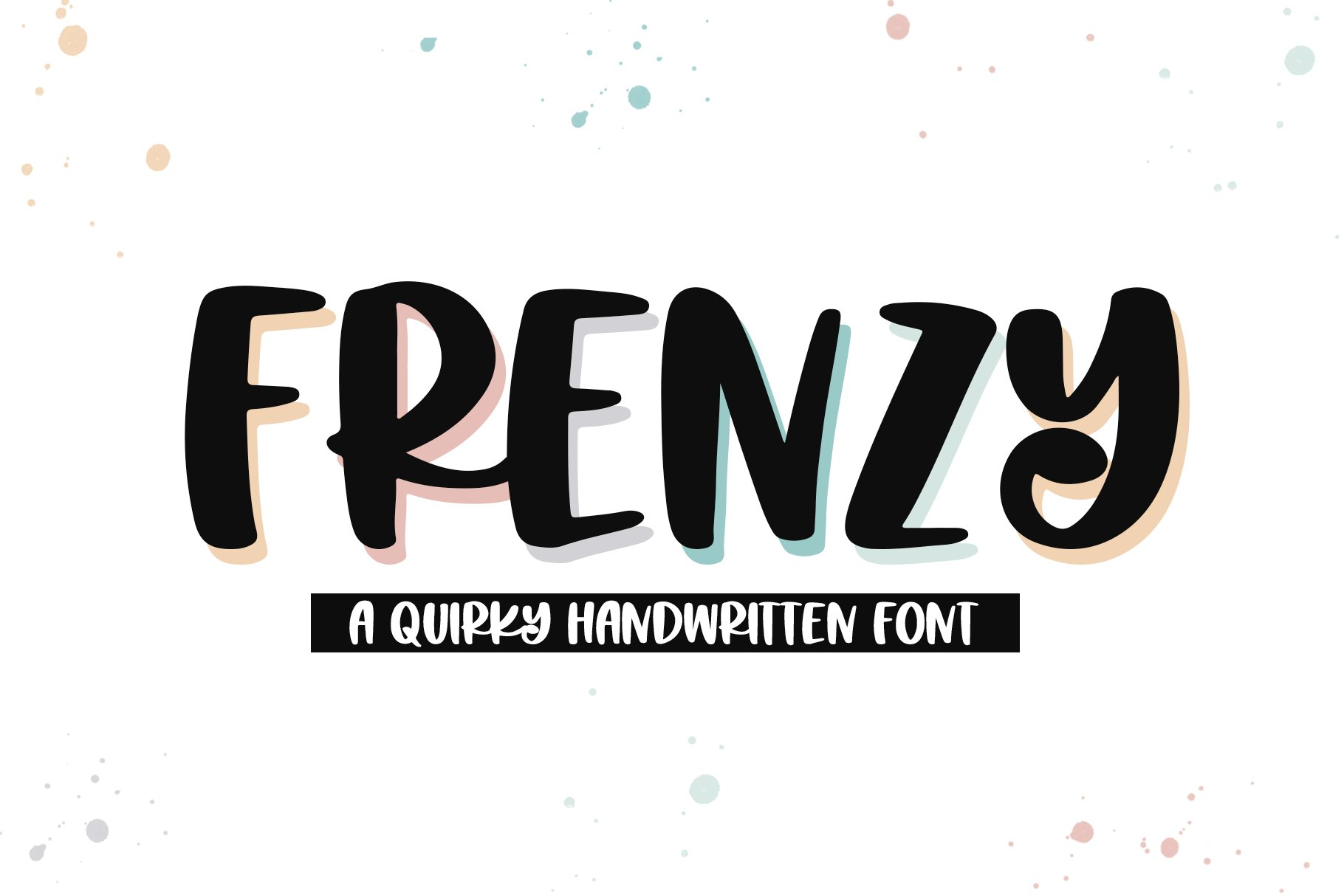Frenzy - A Quirky Handwritten Font example image 1