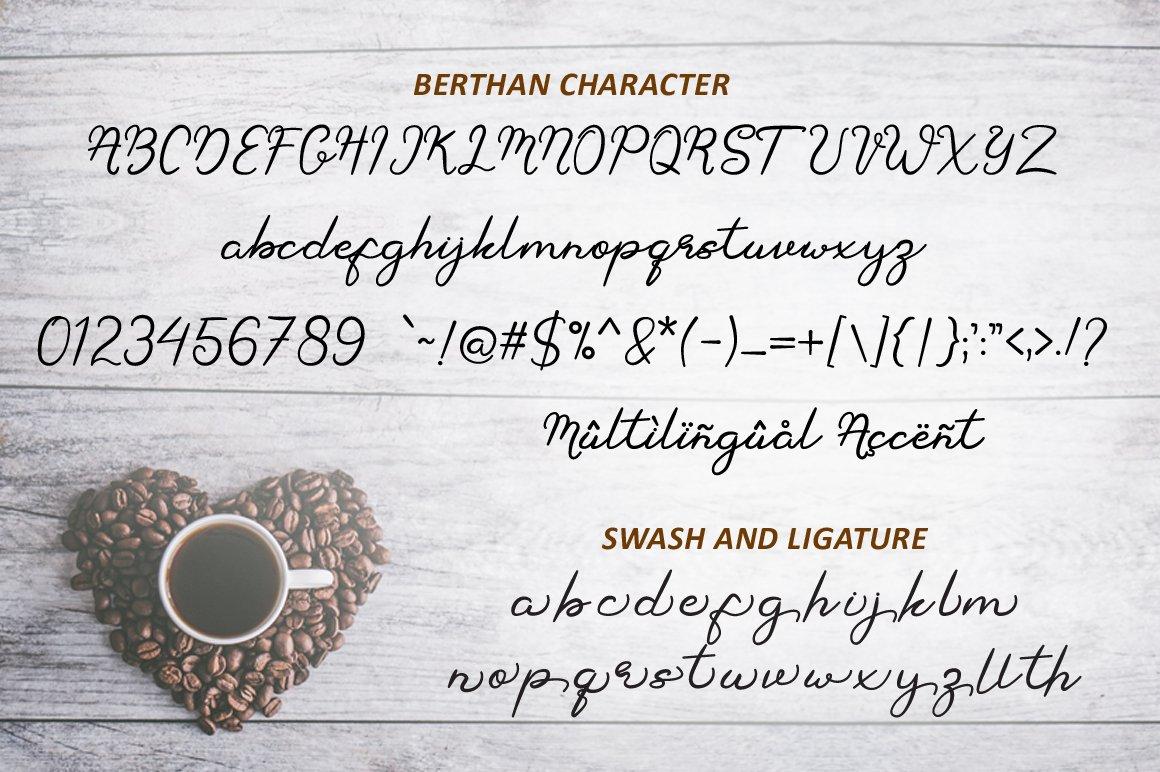 Berthan Signature example image 7