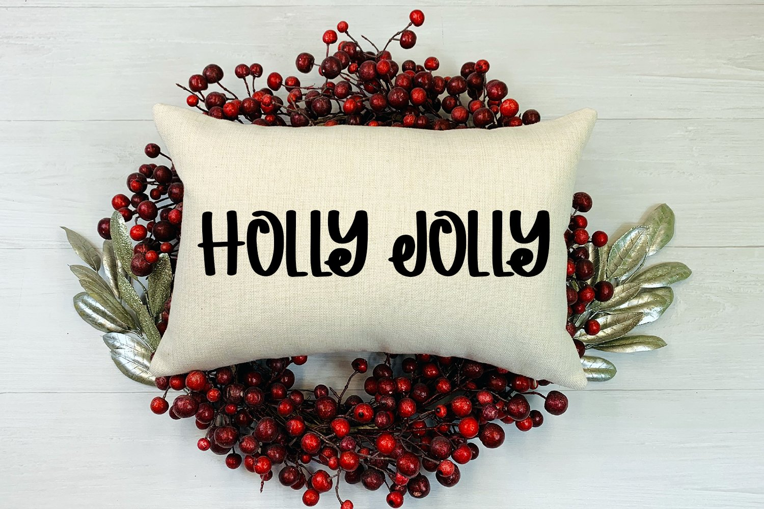 Christmas Spirit - A Hand-Lettered Christmas Font example image 4