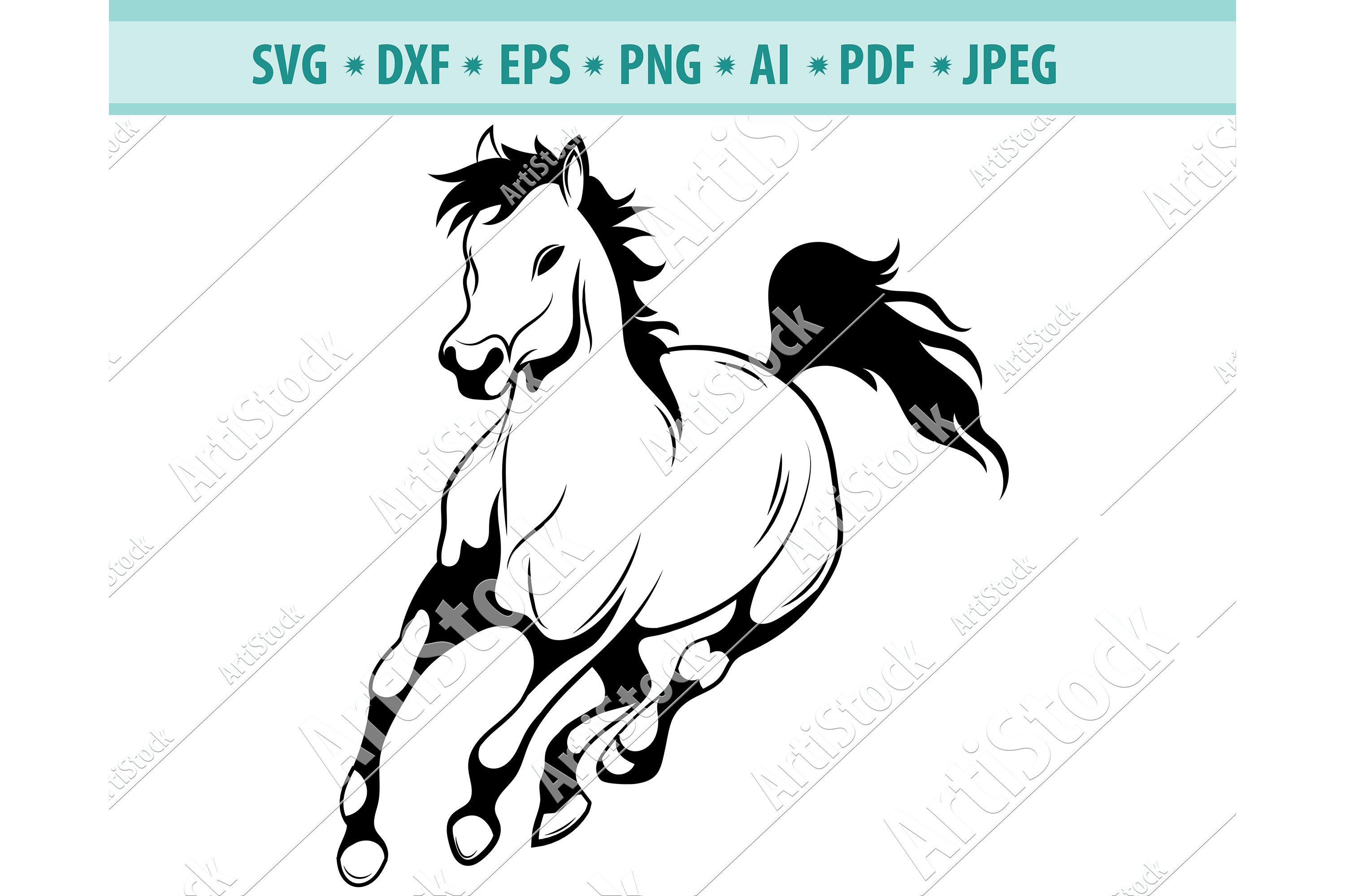 Head clipart mustang horse, Head mustang horse Transparent FREE for  download on WebStockReview 2020