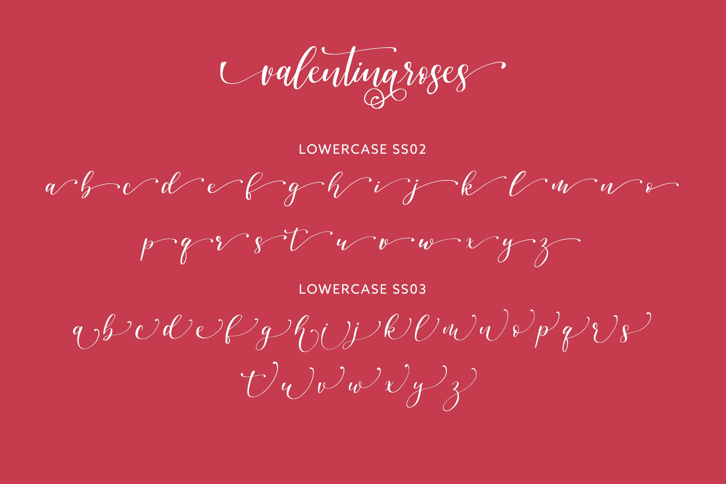 Valentinaroses Lovely Script Font example image 7