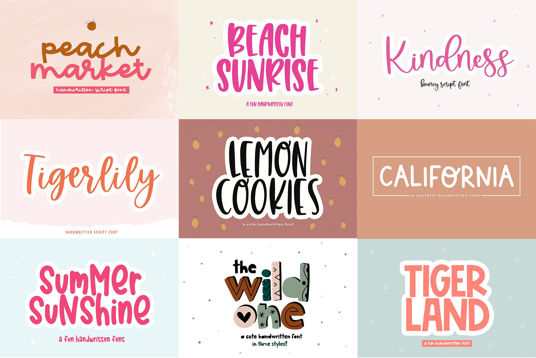 Font Bundle - Handwritten Fonts for Crafters! example image 26