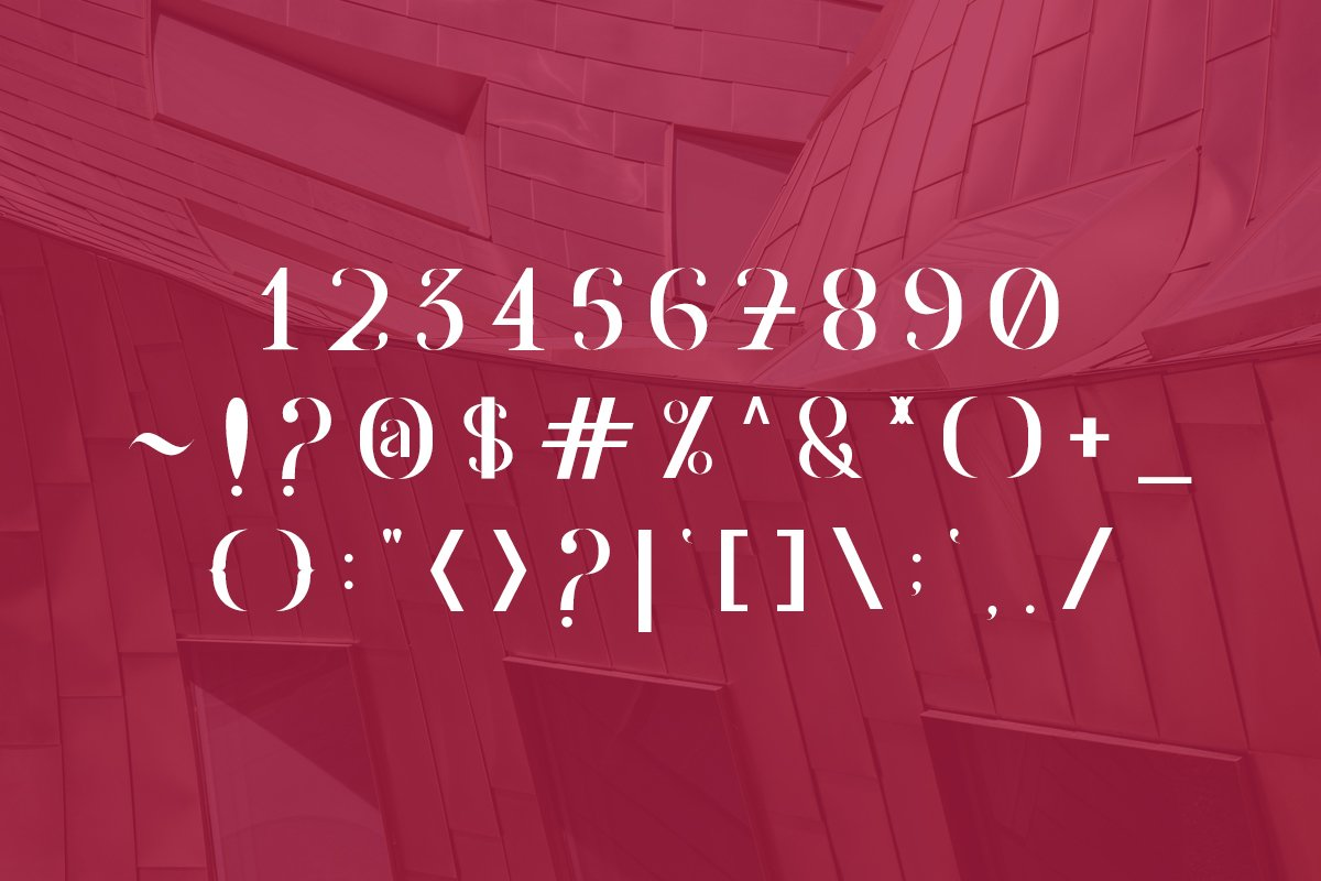 Agrasia | Serif Font example image 6