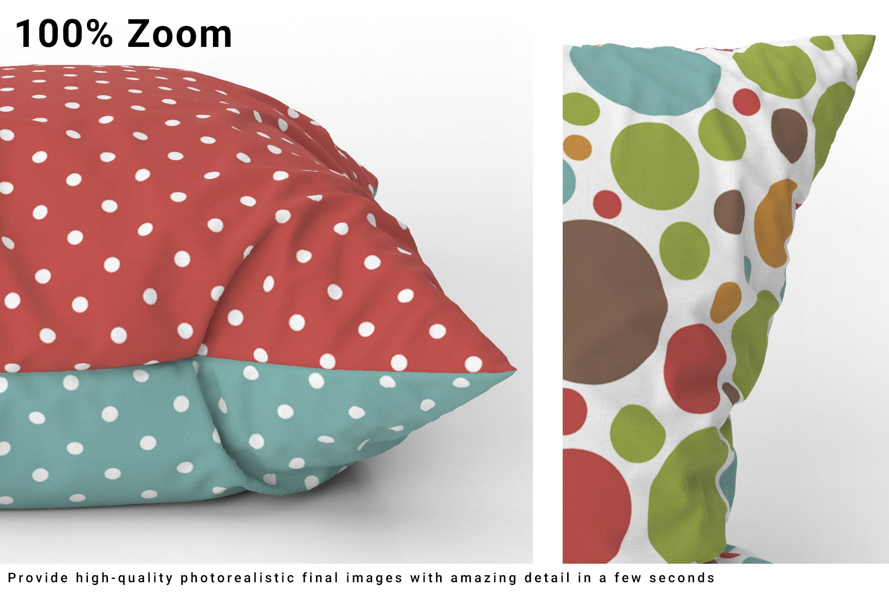 Throw Pillows Mockup Set example image 4