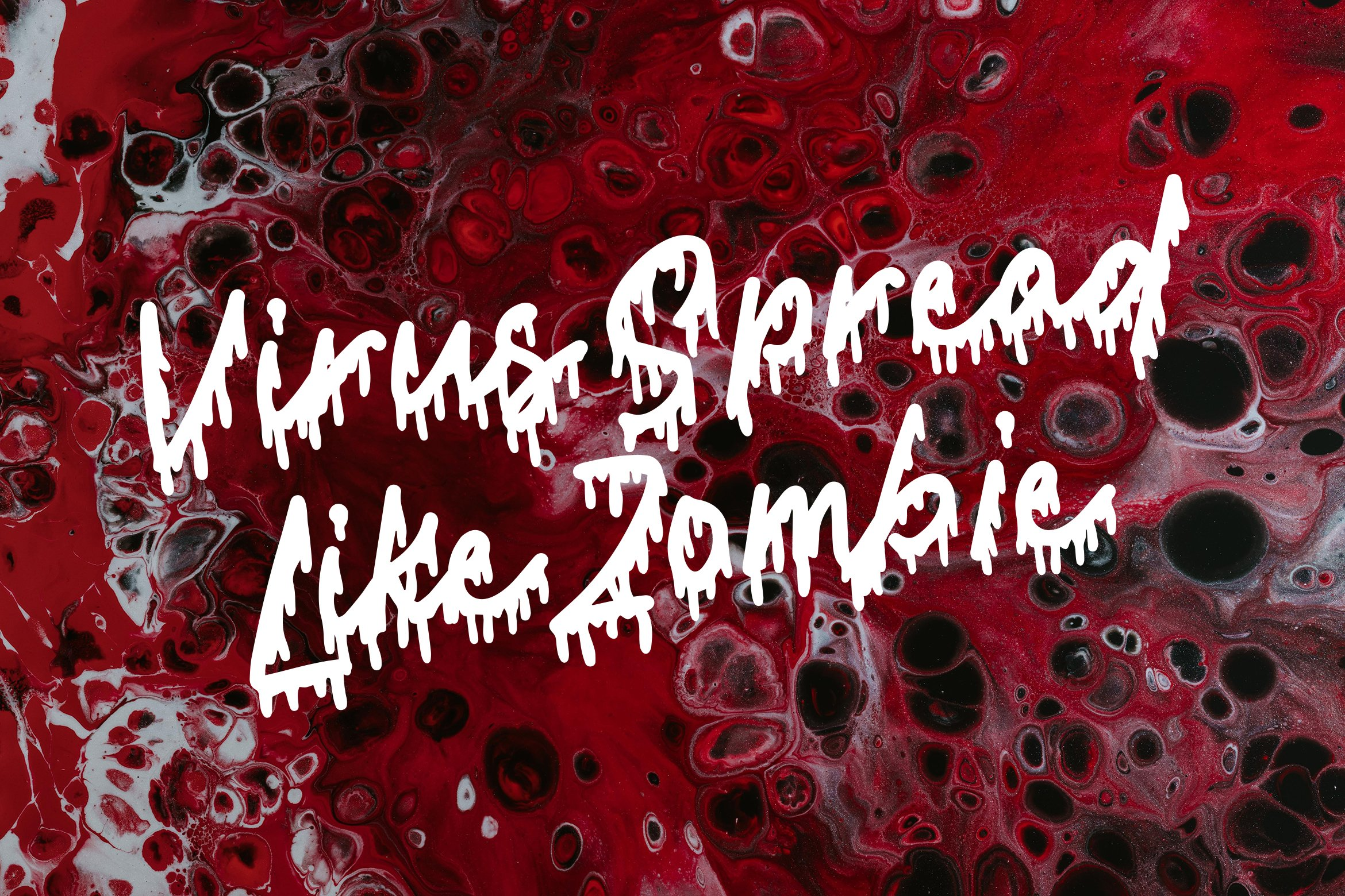Get Bleed - Horror Fonts example image 6