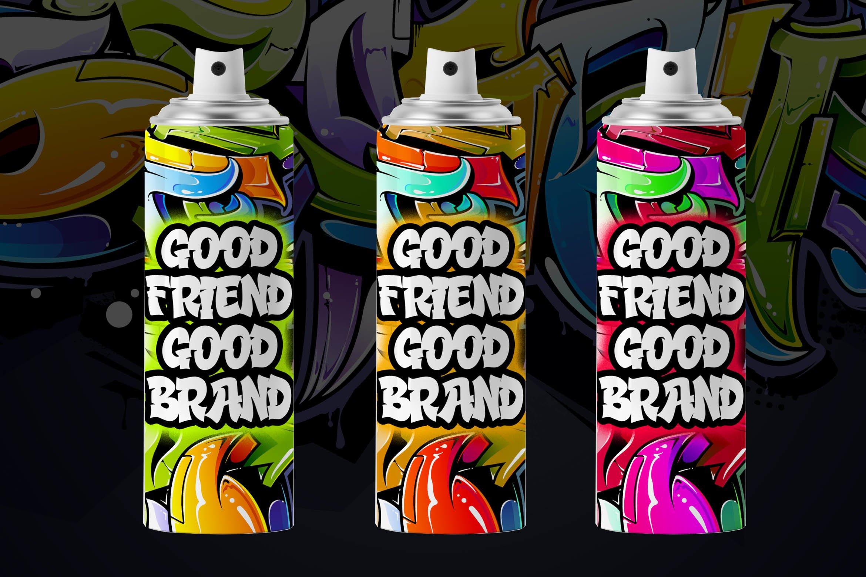 Street Hustle - Graffiti Font example image 4