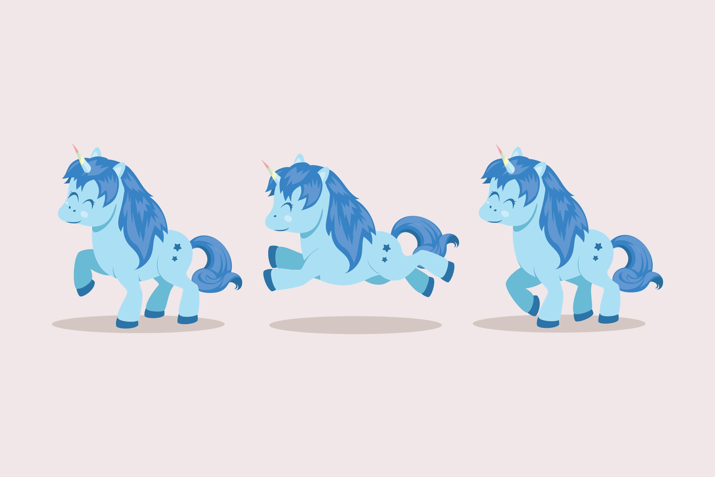 Unicorn Illustrations example image 1