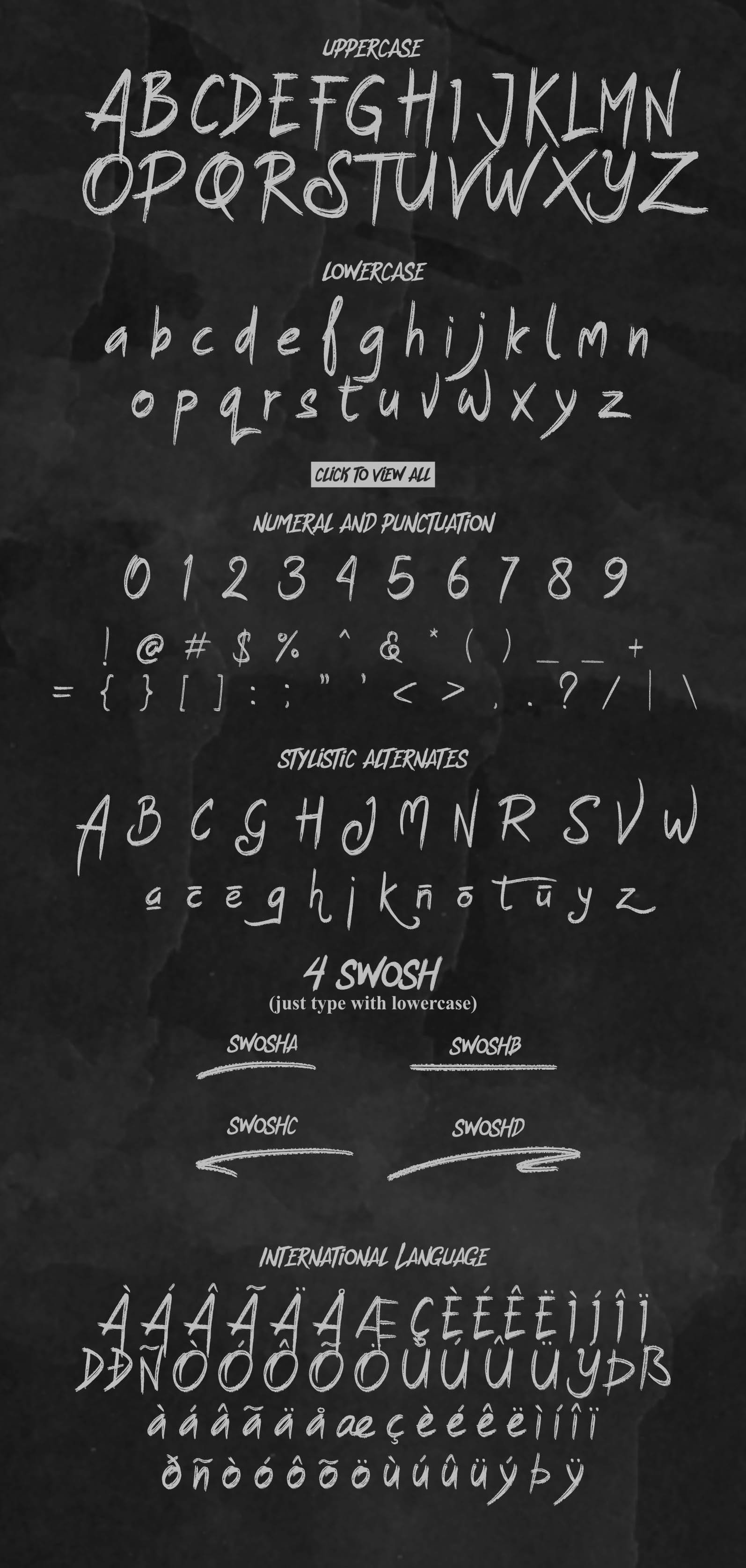 The Strike Out Typeface example image 2