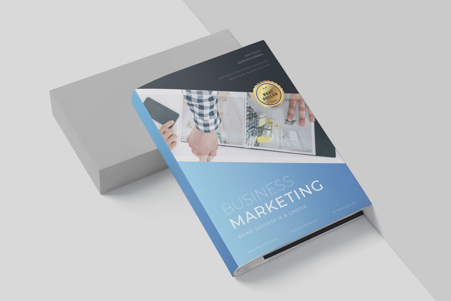 Business Marketing Book Cover example image 2