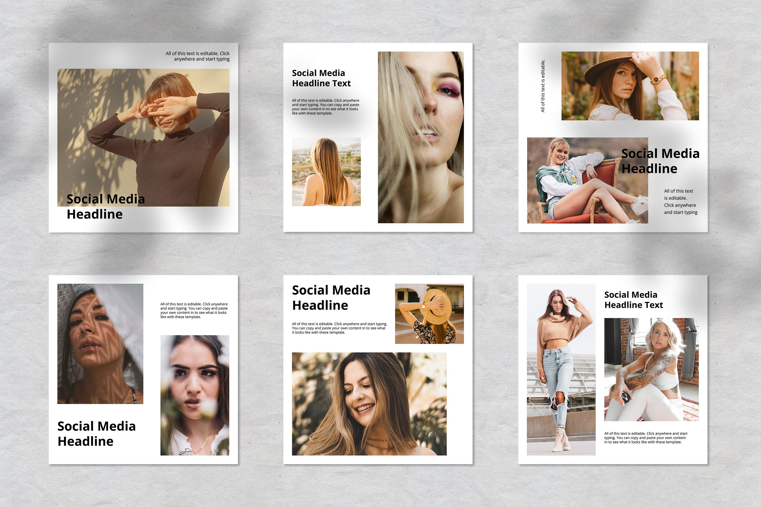 Fashion Instagram Social Media Template example image 3