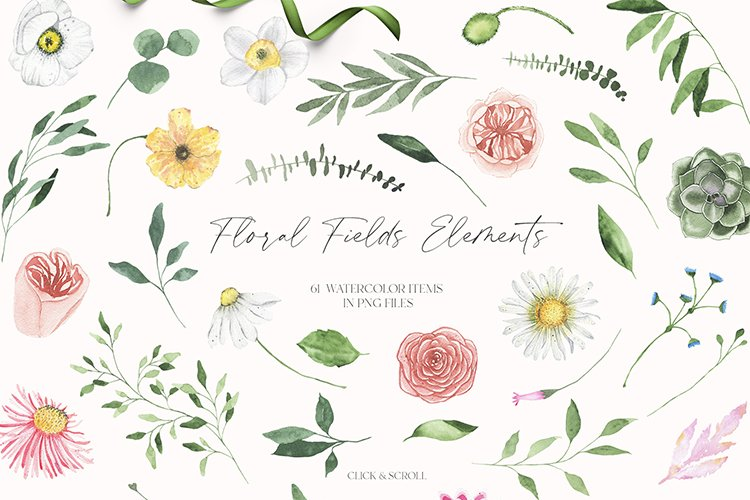 Summer Floral Fields collection example image 17