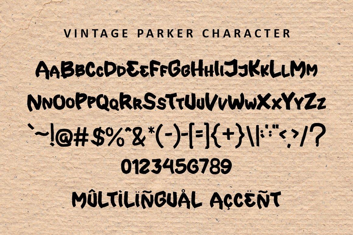 Vintage Parker - Brush Font example image 7