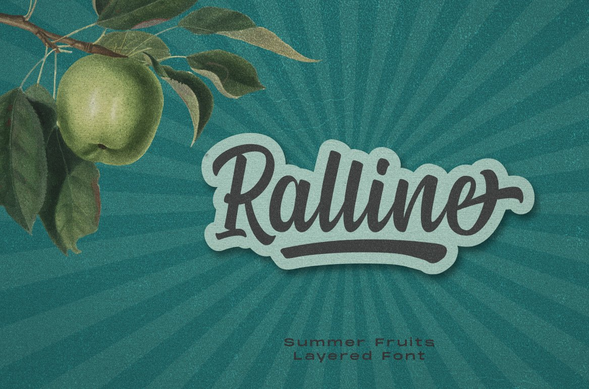 Summer Fruit - Logo Font example image 9