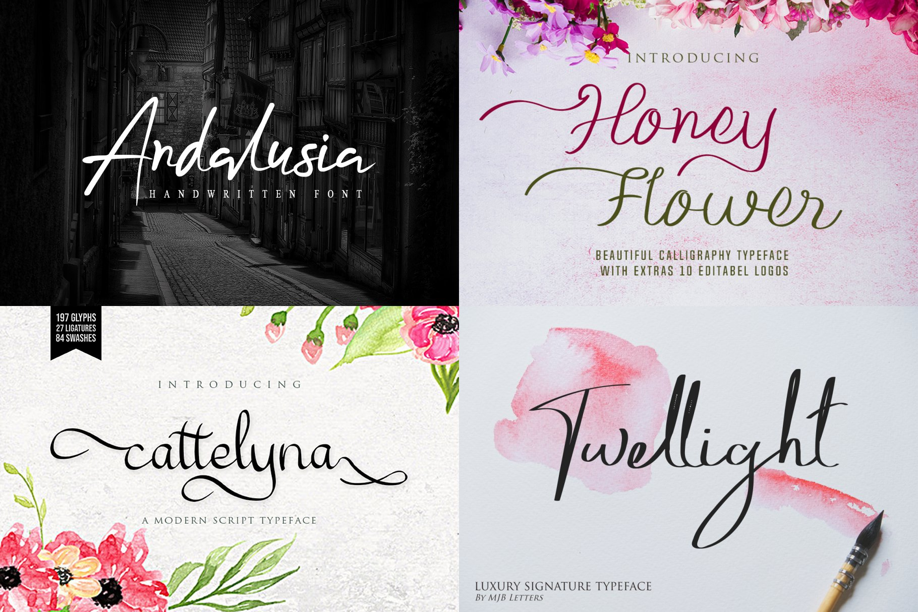BIG BUNDLE - BEST FONT COLLECTIONS example image 9