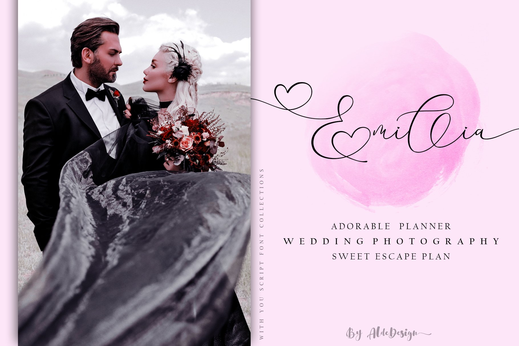 With You // Lovely Script Font example image 6