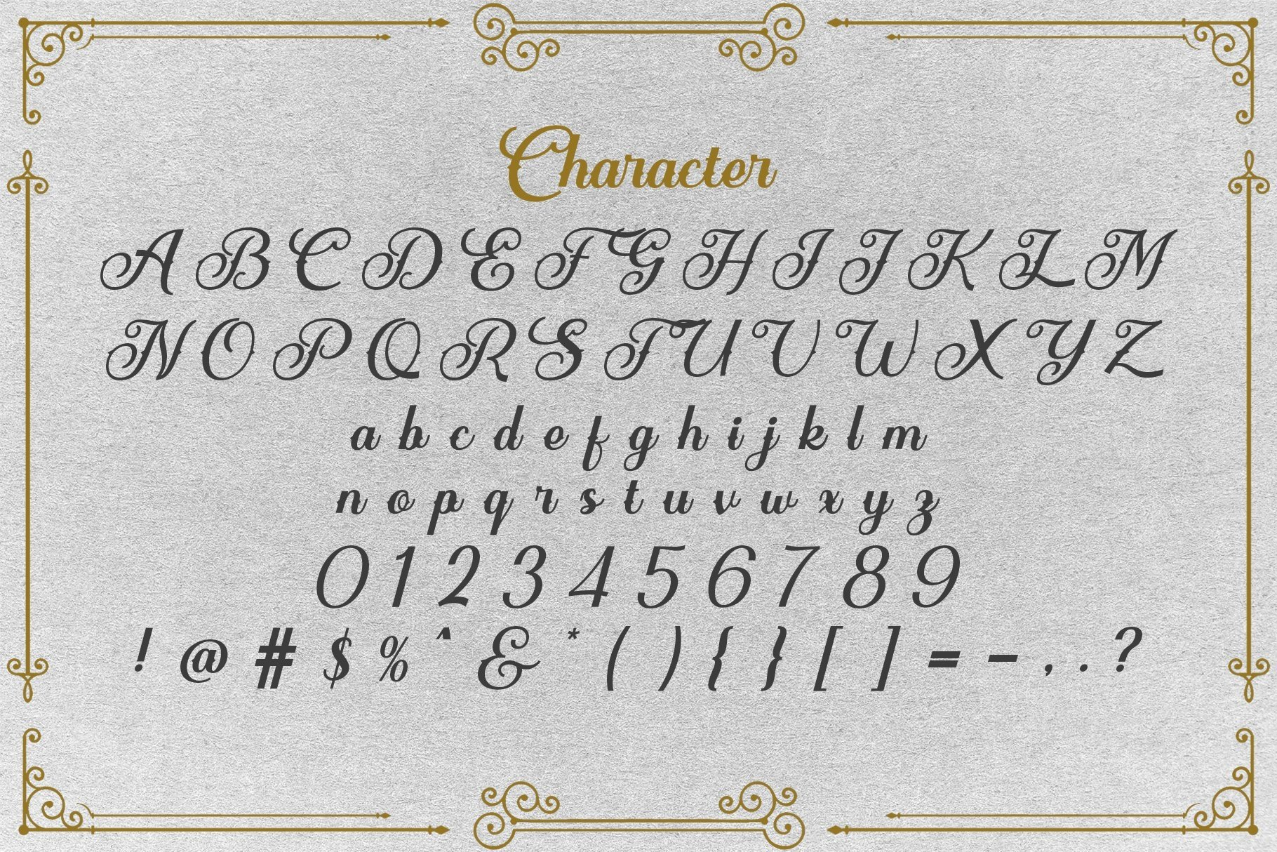 Web Font Tiagrey example image 3