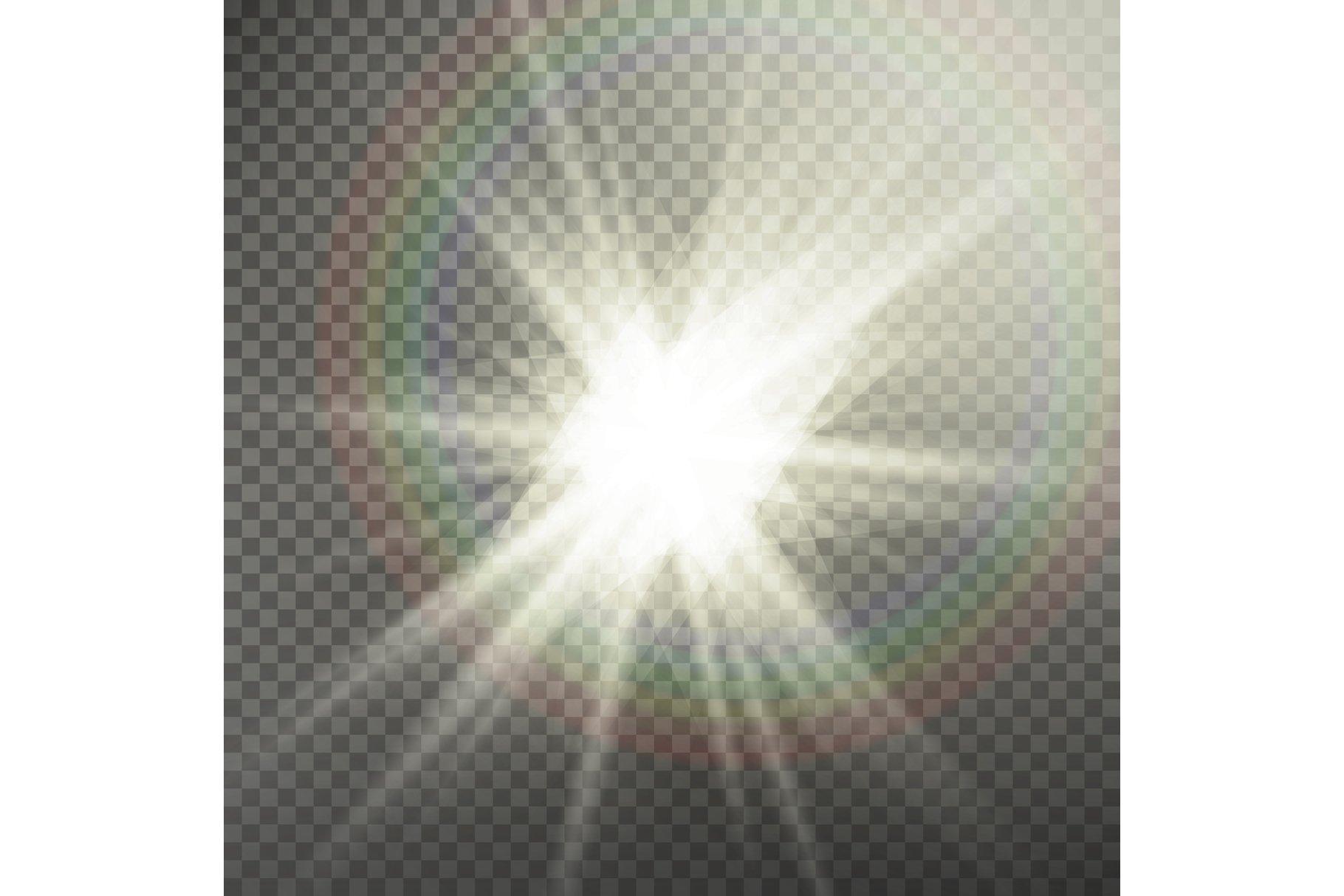 Sunlight Special Lens Flare Light Effect. Light Flare example image 1