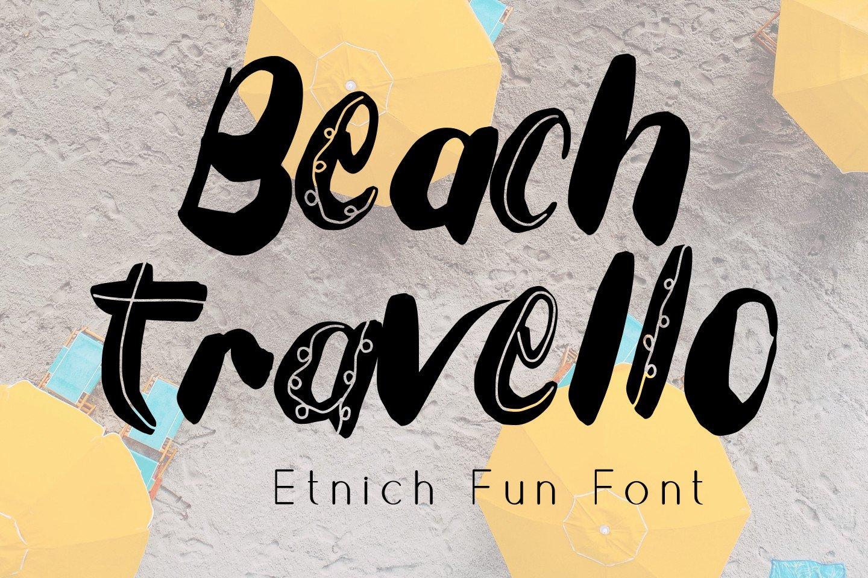 Tuesday Spirit Ethnic Font example image 2