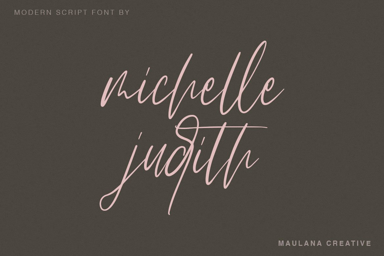 Arttifac - Modern Script Font example image 5